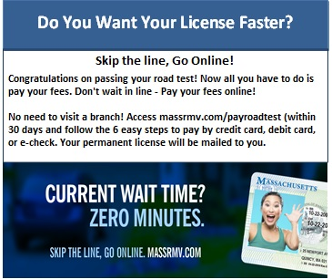 pay road test online